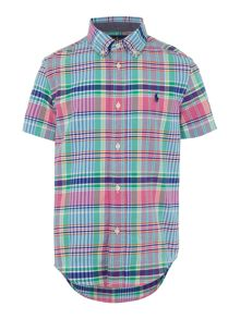 Polo Ralph Lauren Boys Short Sleeve Check Shirt