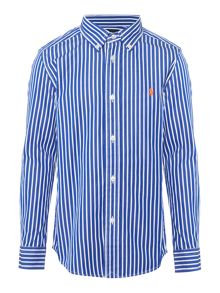 Polo Ralph Lauren Boys Stripe Long Sleeve Shirt