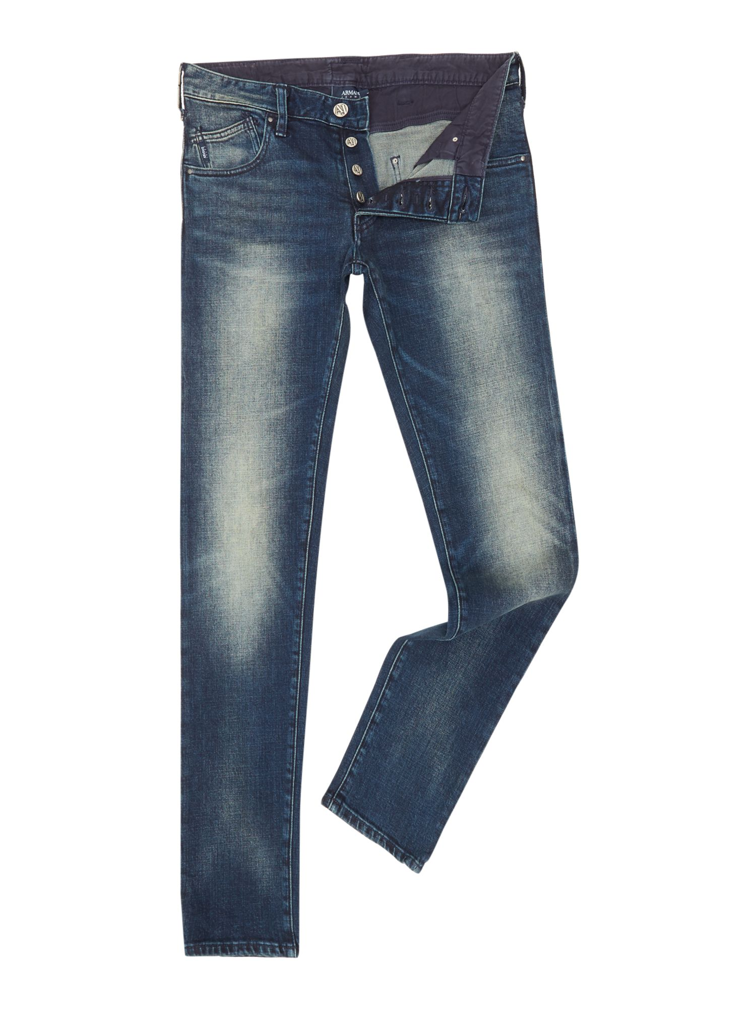 ARMANI Super Slim Straight Denim J20