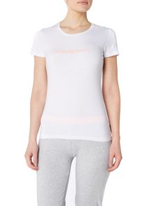 Emporio Armani Visibility iconic scoop neck lounge t-shirt