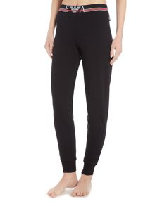 Emporio Armani Visibility sporty cuffed lounge pants