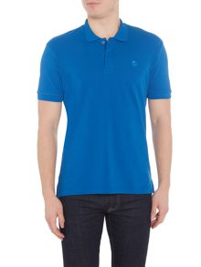 Perry Ellis America Archive Fit Short-Sleeve Polo-Shirt