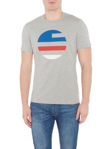 Perry Ellis America Large Printed Logo Short-Sleeve T-shirt