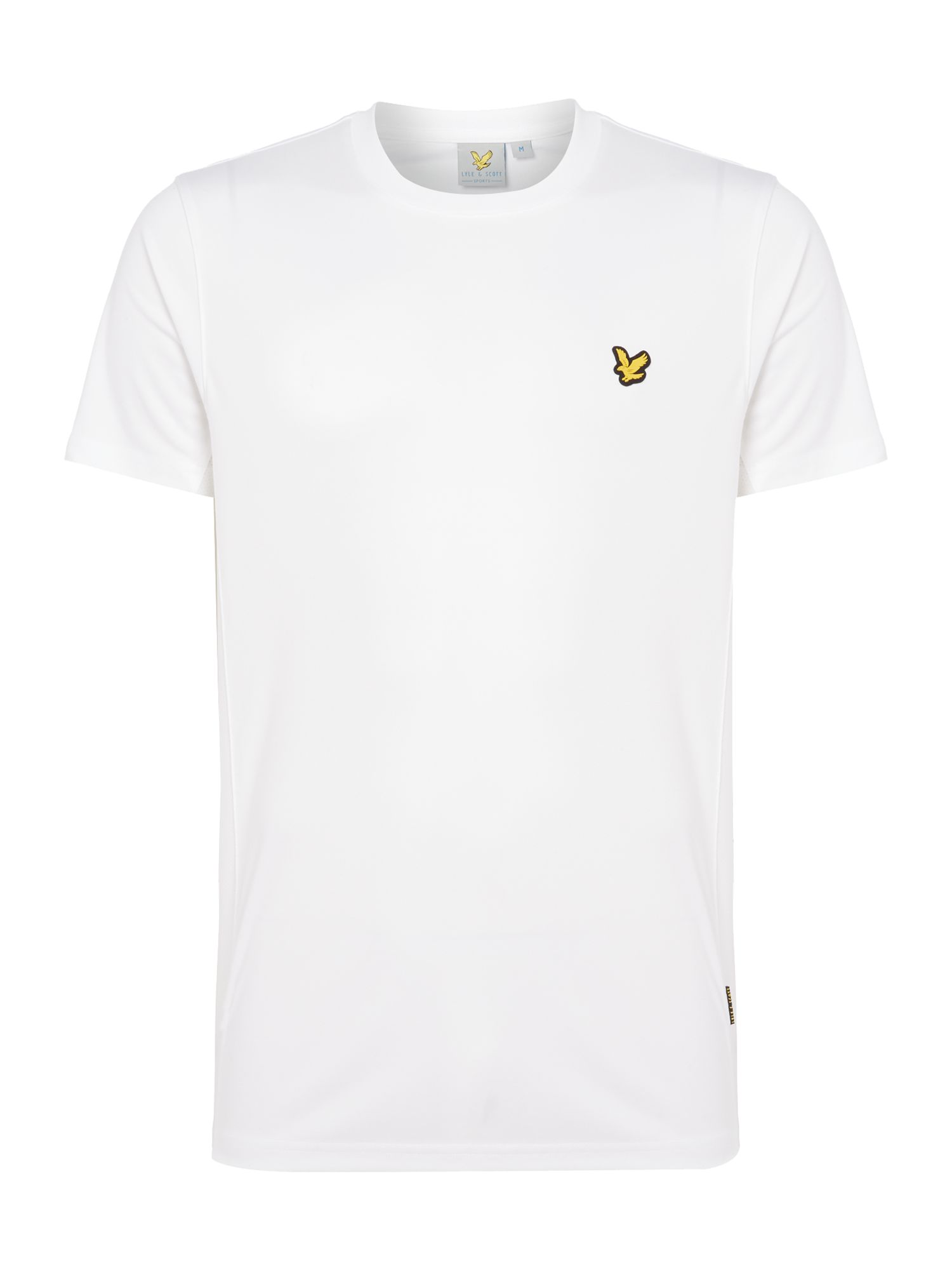Men's Lyle and Scott Sports Crew-Neck Short-Sleeve T-Shirt, White