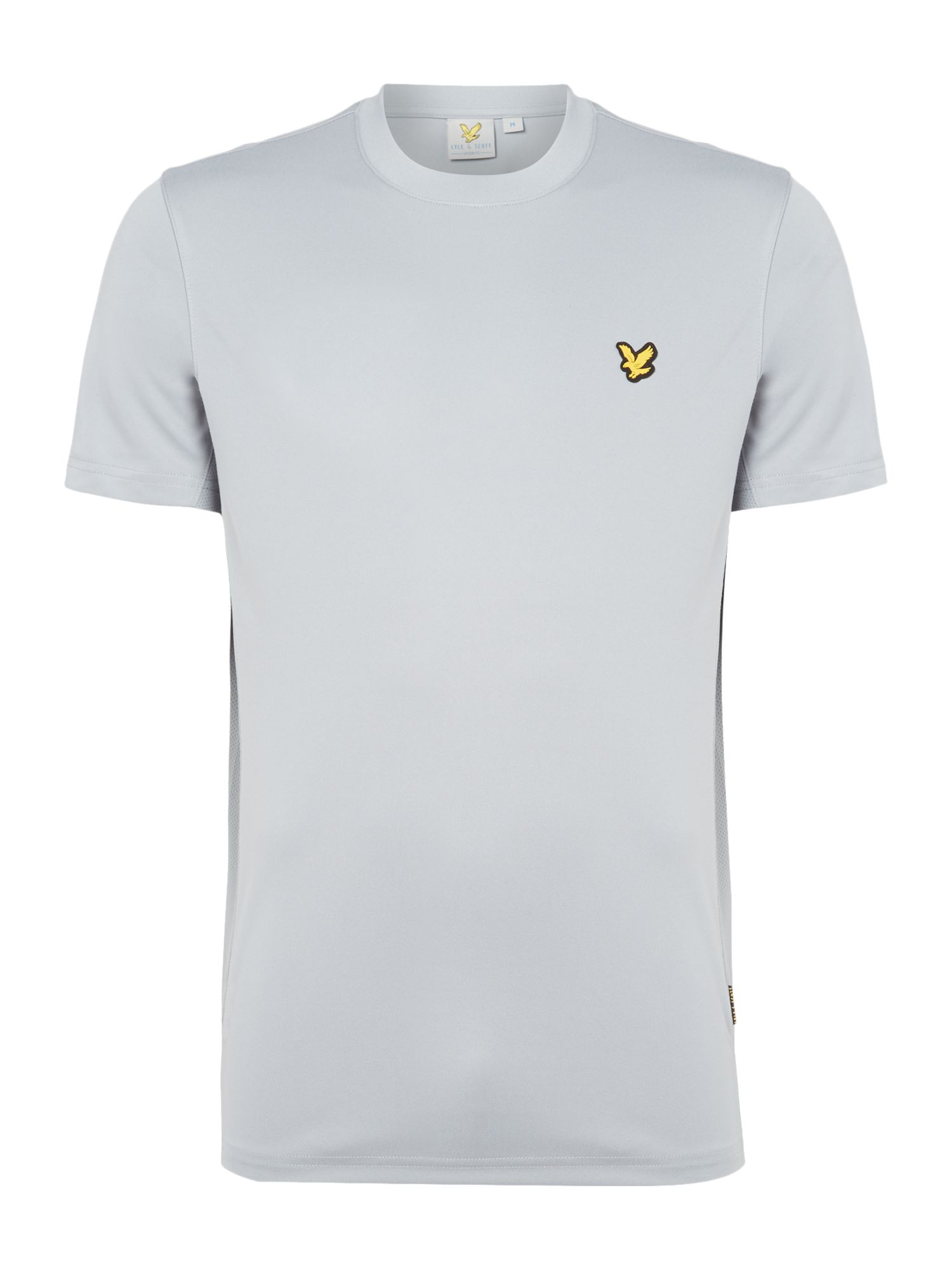 Lyle and Scott Men's Lyle and Scott Sports Crew-Neck Short-Sleeve T-Shirt, Grey