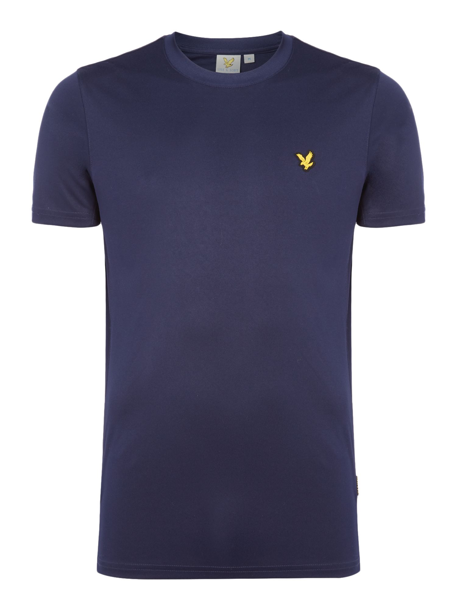 Men's Lyle and Scott Sports Crew-Neck Short-Sleeve T-Shirt, Blue