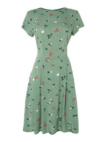 Dickins & Jones Cherri Cherry Printed Dress