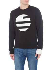 Perry Ellis America Large Logo Sweatshirt