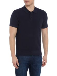 Perry Ellis America Textured Knitted Polo-Shirt