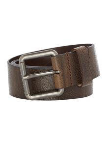 Diesel B-Stampp Italian Leather Belt