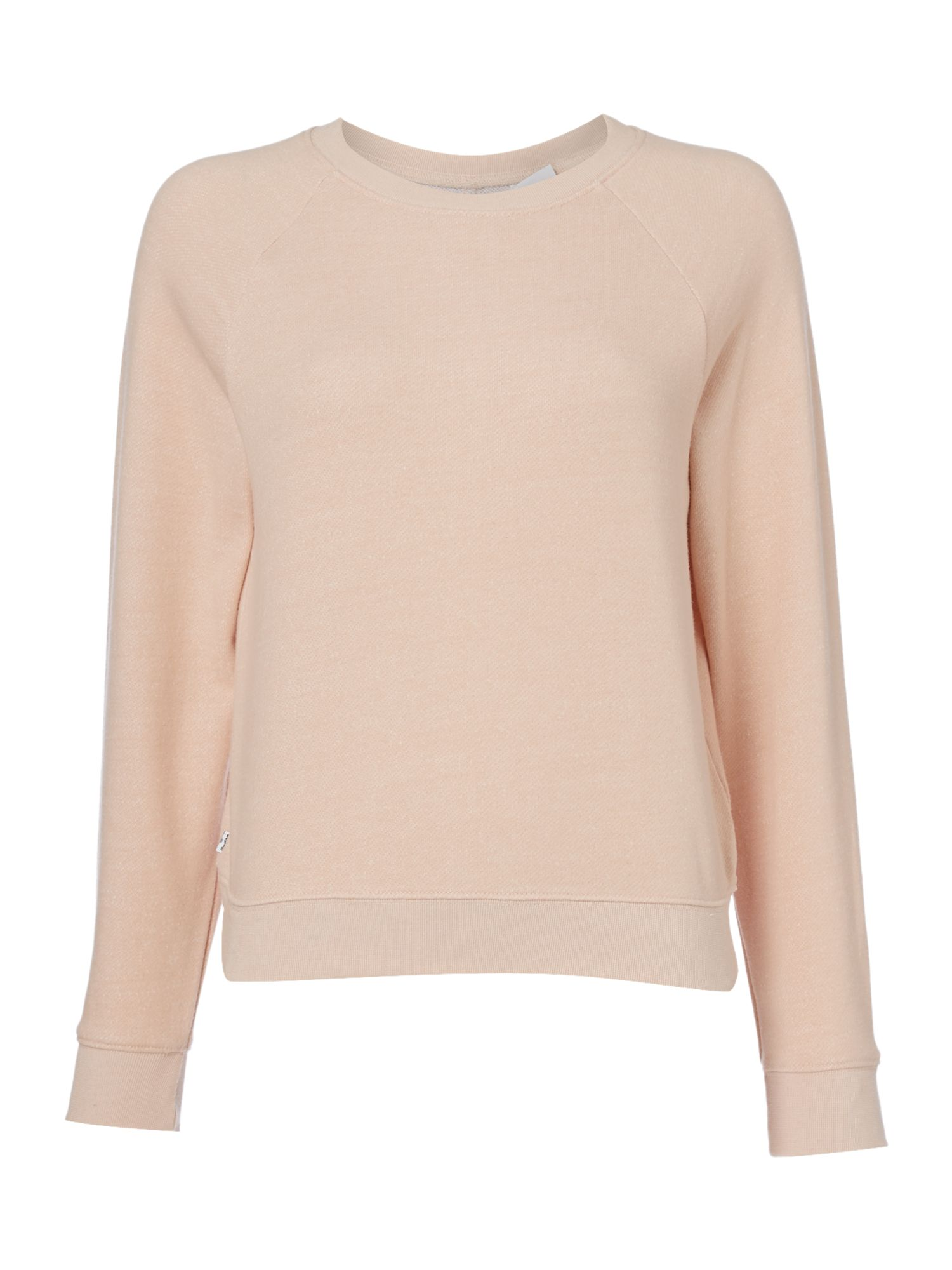 Levi's Line8 Crew Neck Logo sweater, Rose