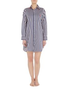 Lauren Ralph Lauren Striped sleep shirt