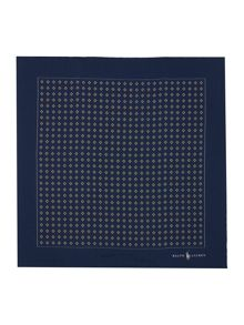 Polo Ralph Lauren Ditsy Diamond Pocket Square