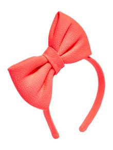 Billieblush Girls Bow Headband