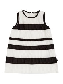 DKNY Girls Pleated Dress