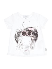 DKNY Girls Cotton T-Shirt