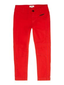 DKNY Girls Cotton Twill Pants