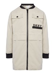 DKNY Girls Bomber Jacket