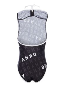 DKNY Girls One Piece Swimsuit