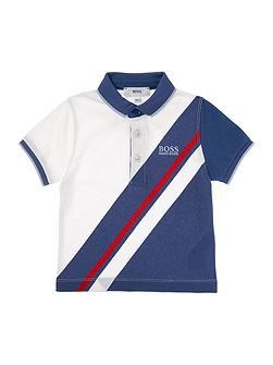 Boys Sporty Short Sleeved Polo