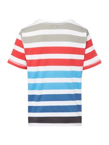 Hugo Boss Boys Striped T-Shirt