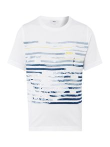 Hugo Boss Boys Tonal Graphic T-Shirt