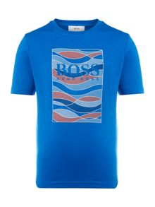 Hugo Boss Boys Large Print T shirt