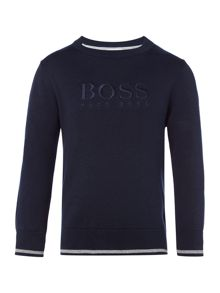 Hugo Boss Boys Knitted sweatshirt