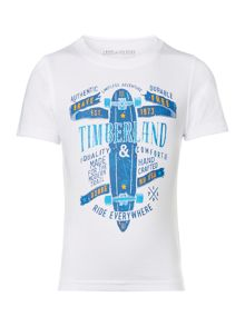 Timberland Boys Illustration T-Shirt