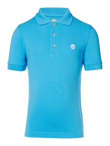 Timberland Boys Embroidered Logo Polo Shirt