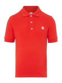 Timberland Boys Short-Sleeved Polo
