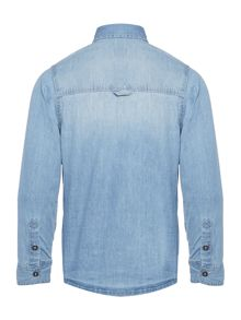 Timberland Boys Long Sleeved Denim Shirt