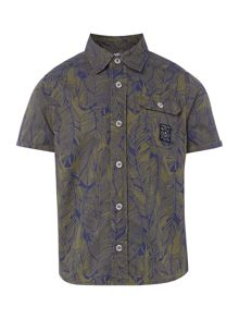 Timberland Boys Cotton Printed Shirt