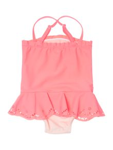 Billieblush Girls Laser Cut Swimsuit