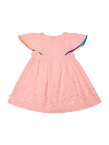 Billieblush Girls Pompom Dress