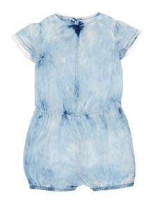 Billieblush Girls Denim Overalls