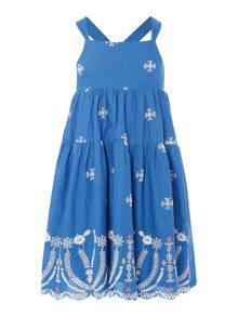 Billieblush Girls Embroidered Dress