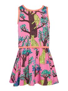Billieblush Girls Printed Dress