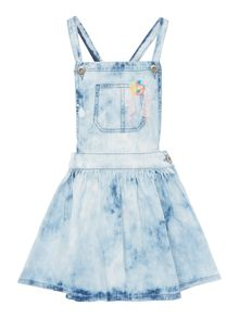 Billieblush Girls Denim Pinafore