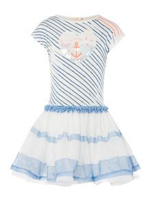 Billieblush Girls Anchor Tuelle Dress