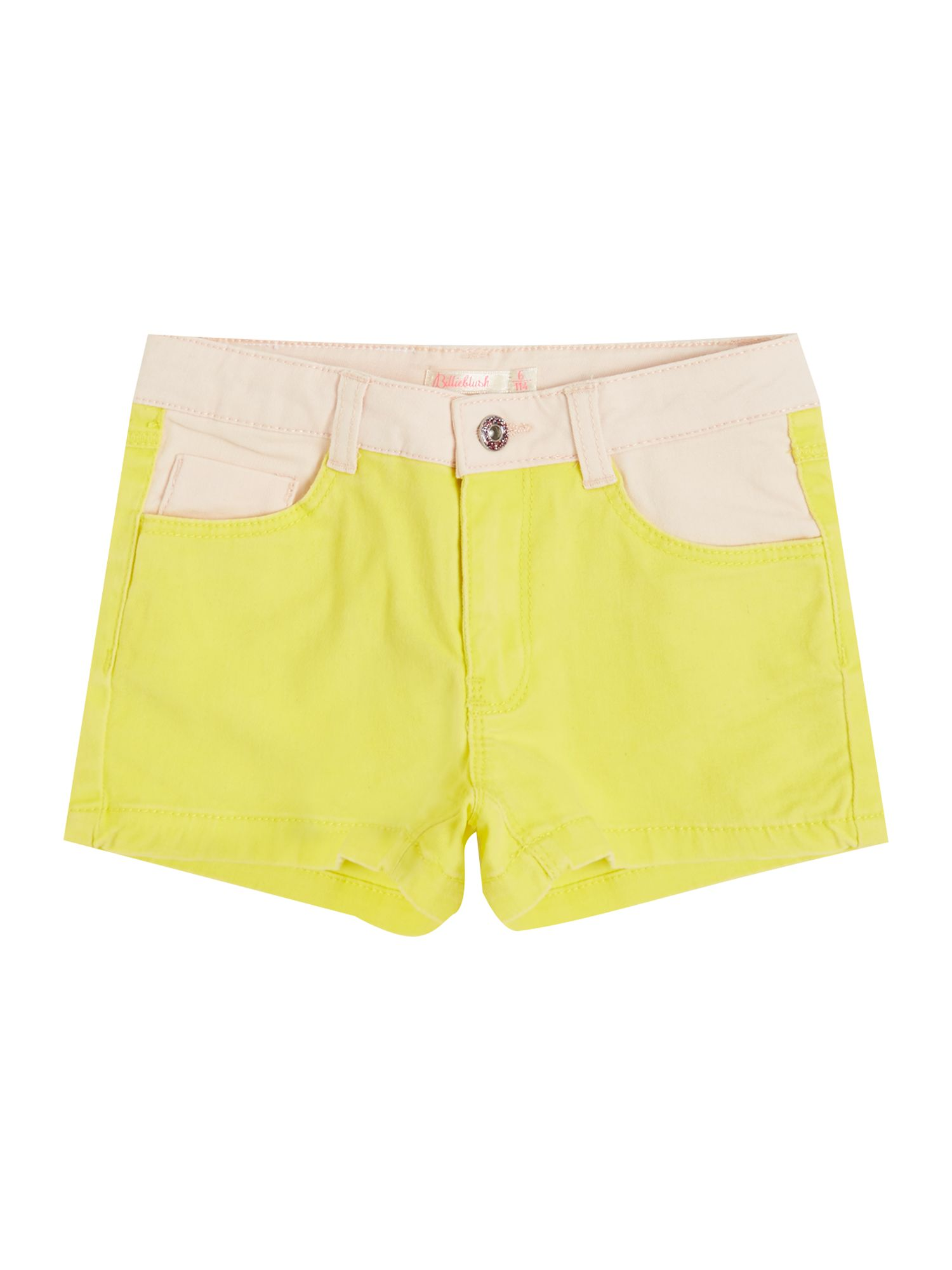 Billieblush Billieblush Girls Shorts, Yellow