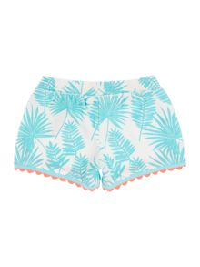 Billieblush Girls Bow Shorts