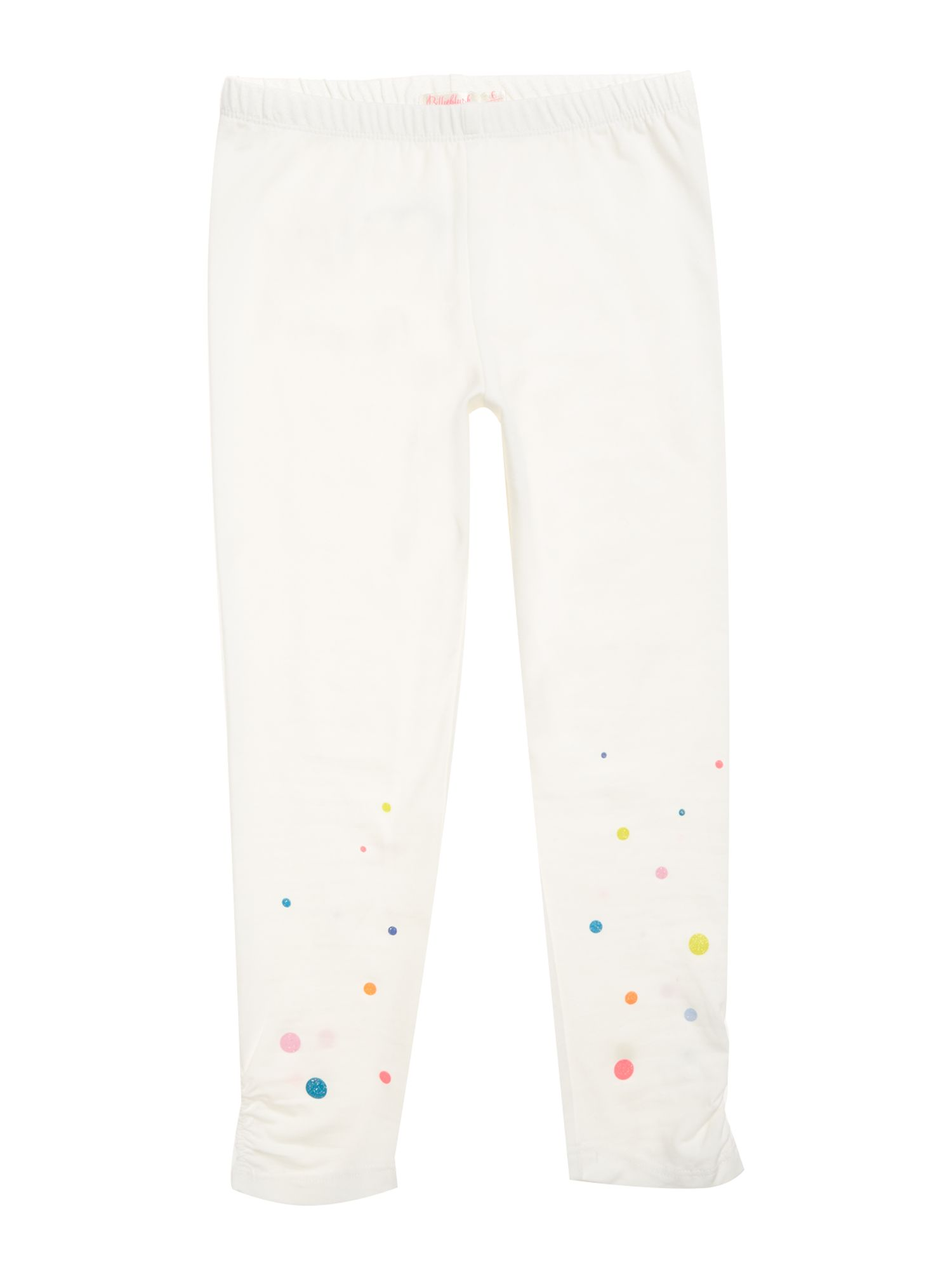 Billieblush Billieblush Girls Jersey Leggings, White