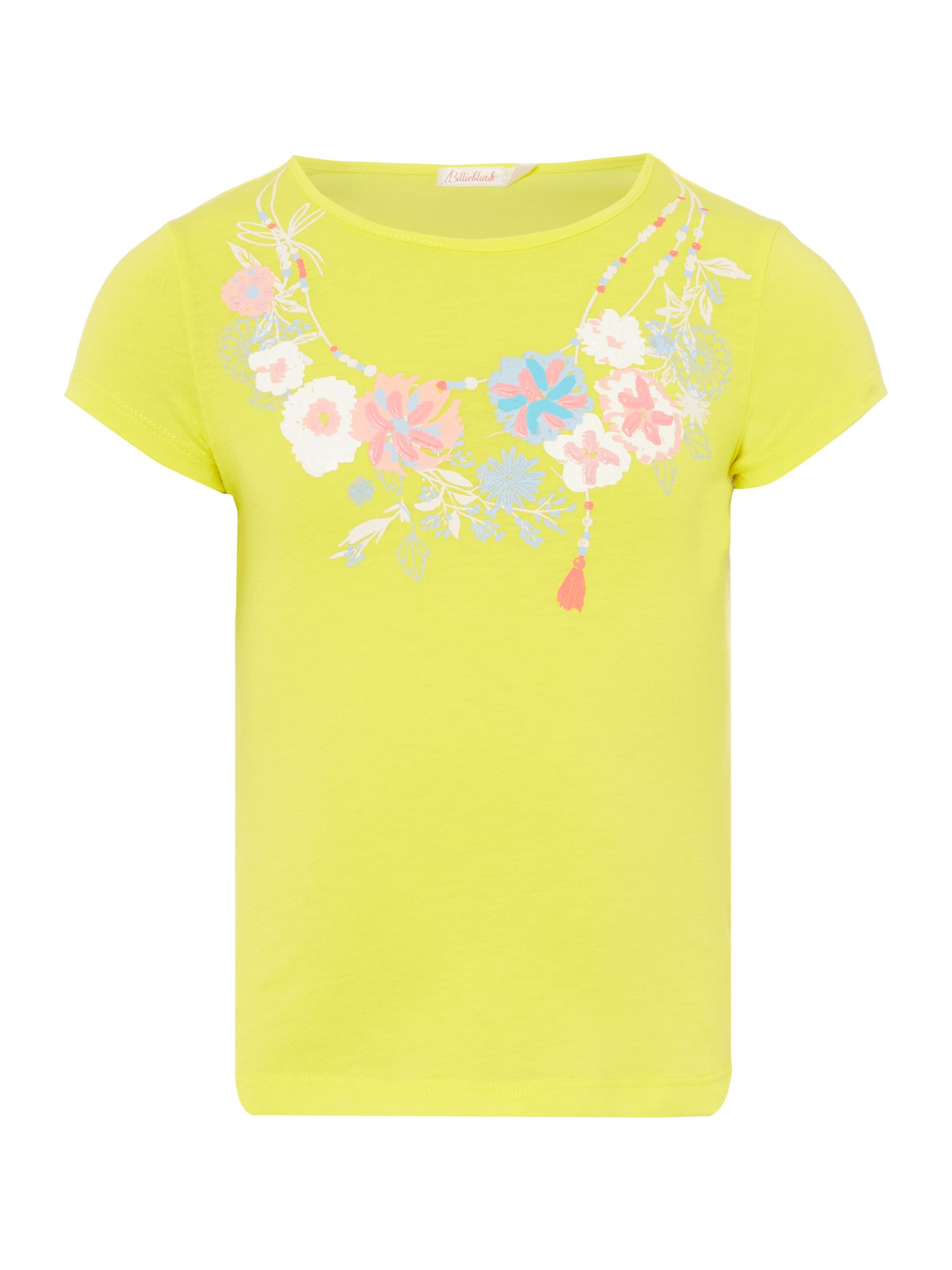 Billieblush Billieblush Girls T-Shirt, Yellow