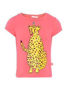 Billieblush Girls Leopard T-Shirt