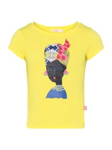 Billieblush Girls Printed Detail T-Shirt