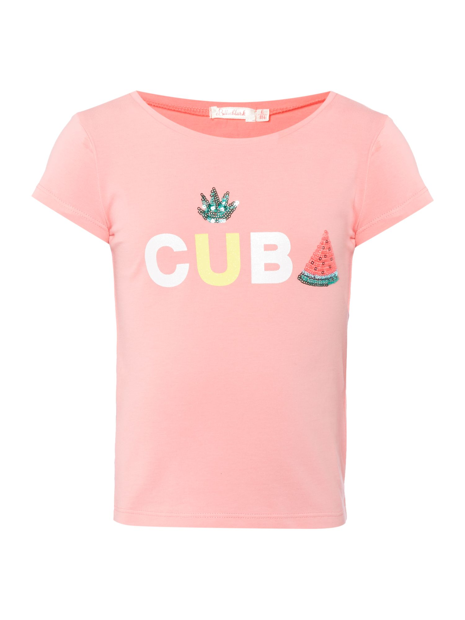 Billieblush Billieblush Girls T-Shirt, Pink
