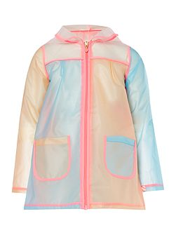 Girls Hooded Raincoat