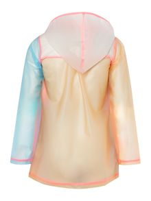 Billieblush Girls Hooded Raincoat