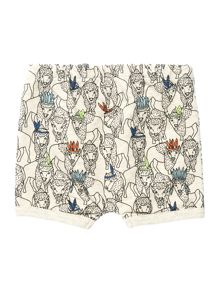 Billybandit Boys Cotton Pattern Shorts